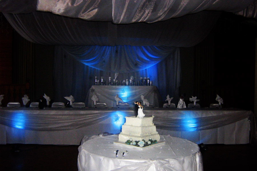 Main Hall, Wedding Cake